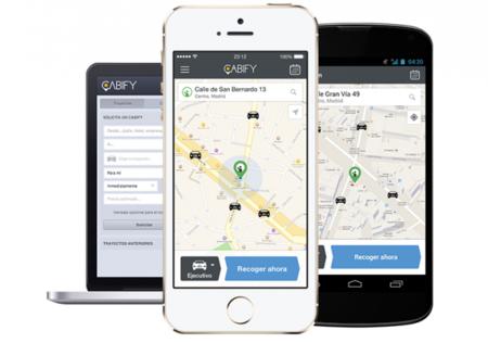Cabify, vehículos ejecutivos desde tu smartphone