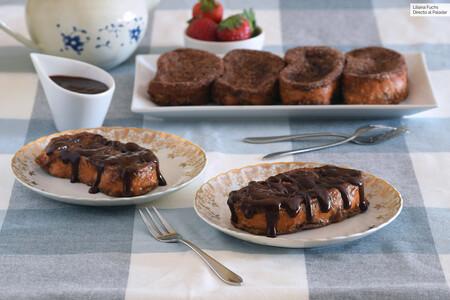 Receta de torrijas de chocolate: las de toda la vida, de leche, pero con cacao