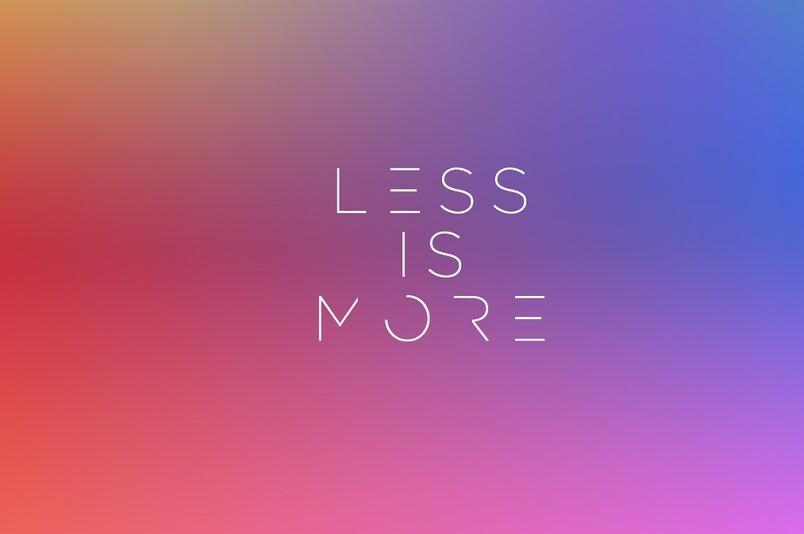 Menos no es más: a los seres humanos nos encanta añadir características y no quitarlas (aunque eso sea mejor)