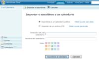 Windows Live Calendar, con soporte para suscripciones iCal y otras mejoras