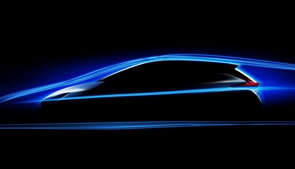 Nissan Leaf 2018 Teaser Perfil