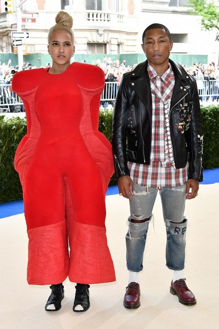 Pharrell Williams Met Gala Comme Des Garcons Rei Kawakubo 02