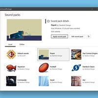 SoundPackager es una pequeña aplicación para cambiar todos los sonidos del sistema de Windows 10 en un par de clicks