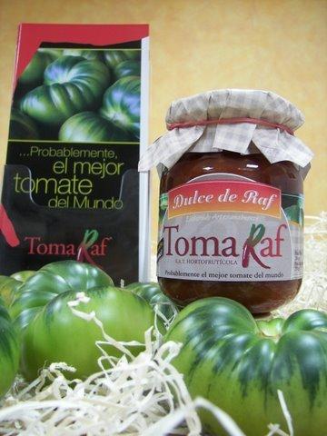 Nueva confitura de tomate Raf, Dulce de Raf