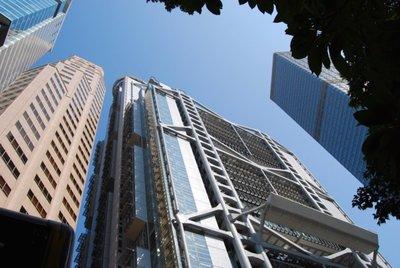 El HSBC Main Building de Norman Foster en Hong Kong