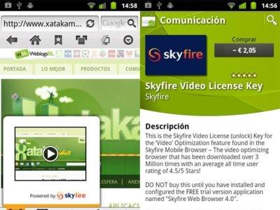 Skyfire 4.0 llega a Android como modelo de aplicación Freemium