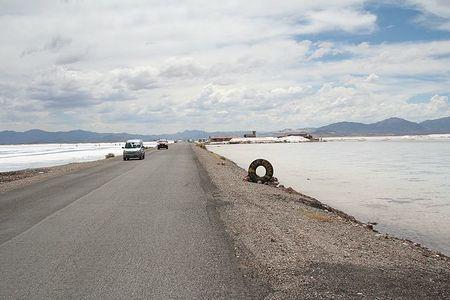 Carretera del salar Salinas Grandes, Argentina