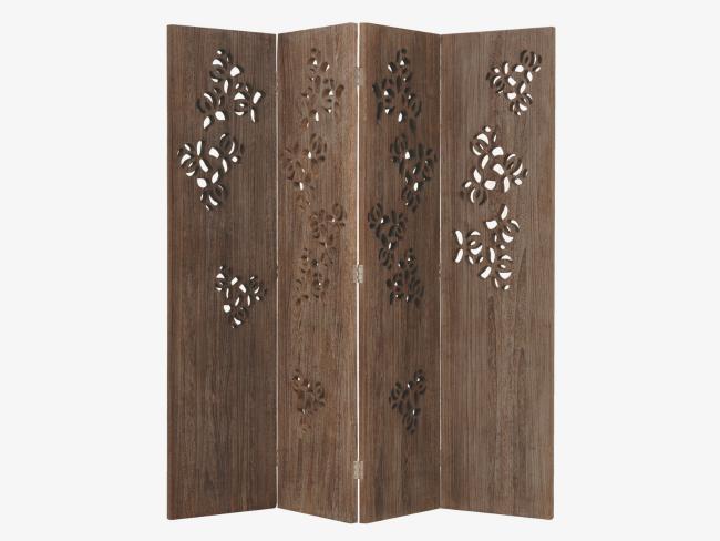 cuatro biombos decorativos para todos los bolsillos. Black Bedroom Furniture Sets. Home Design Ideas