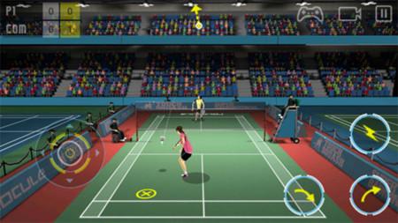 Super Badminton Game