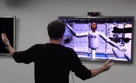 La NASA utiliza Kinect 2 para controlar un brazo robótico
