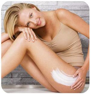 Potenciar el efecto de la crema reductora