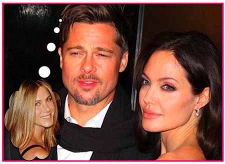 Angelina Jolie se peleó con Brad Pitt en su fiesta de cumpleaños