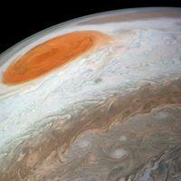 Contempla este vídeo de una tormenta de 8.000 km de ancho en Júpiter