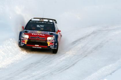 Ni la nieve noruega puede frenar a Sébastien Loeb