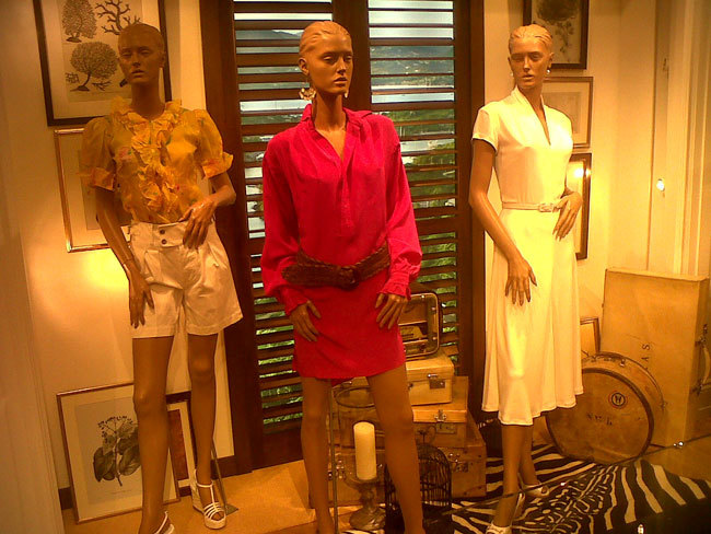 Foto de Avance Ralph Lauren Primavera-Verano 2012: mezcla de tendencias (6/18)