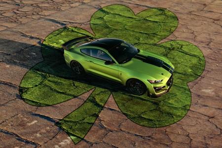 Ford Mustang 2020 Grabber Lime 2