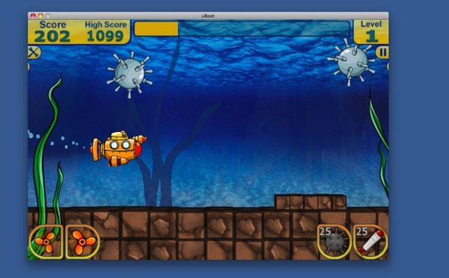 U-Boot juego gratis Mac App Store