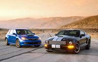 Subaru Impreza WRX STI vs Shelby Mustang GT, comparativa con resultado más que evidente