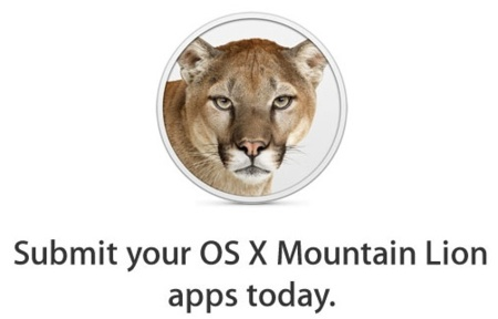 Apple pide a los desarrolladores que publiquen sus aplicaciones para OS X Mountain Lion
