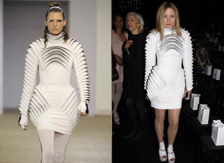 Roisin Murphy de Gareth Pugh en la Semana de la Moda de París