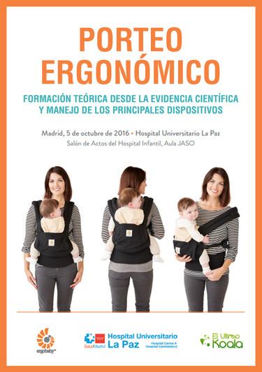 El porteo ergonómico llega por fin a los profesionales sanitarios a través de la universidad