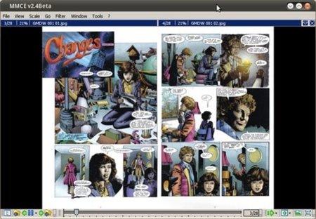 MangaMeeya, un lector de comics portátil para el ordenador