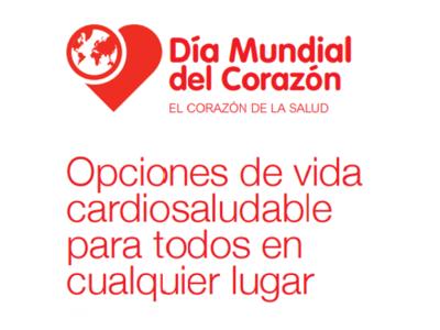 En el Día Mundial del Corazón, realiza elecciones cardiosaludables