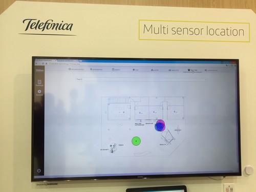 Usando todos los sensores del móvil para geolocalizar en interiores con un margen de un metro