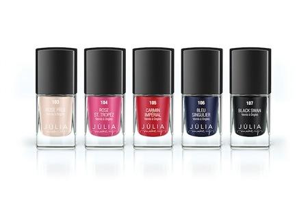 Júlia presenta sus nuevos esmaltes para esta Primavera-Verano 2012