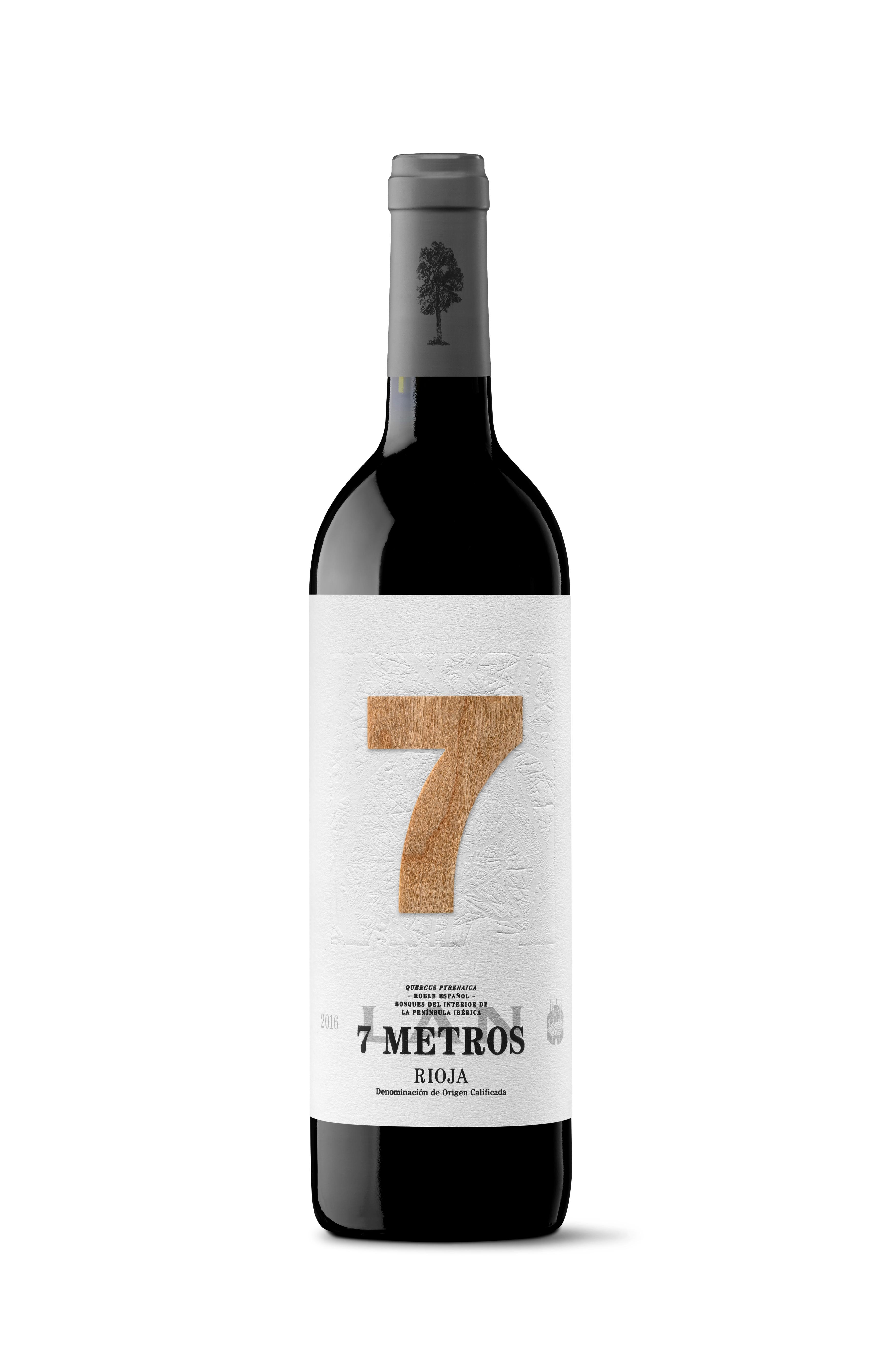 Lan 7 Metros 2017 (estuche de tres unidades). DOCa Rioja