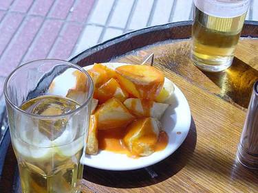 """Las """"bravas del Docamar"""", posiblemente las mejores patatas bravas del mundo"""