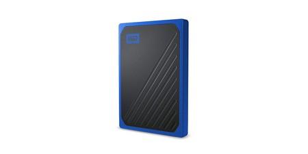 Amazon tiene los 500 GB portables y SSD del WD My Passport Go por sólo 75,19 euros