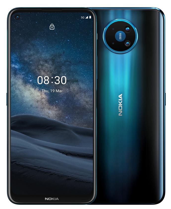 Nokia 8.3 5G. Modelo 6 GB de RAM, 64 GB Almacenamiento, Dual SIM. Color Noche Polar.