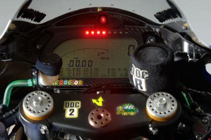 El software de la M1 fue el culpable del abandono de Valentino Rossi en Valencia