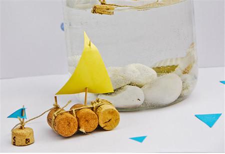 Cómo hacer un pequeño barco para que tus hijos jueguen o decoren su habitación