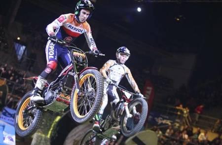 Toni Bou y Adam Raga