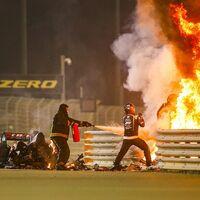 28 segundos en los que años de avances en la seguridad de la Fórmula 1 salvaron la vida de Romain Grosjean