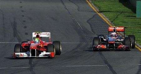 Jenson Button culpa a Ferrari de su sanción