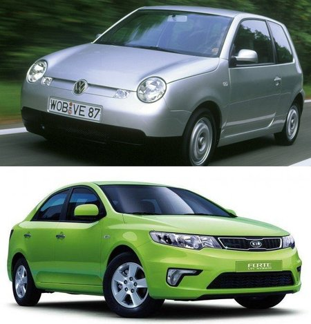 Volkswagen-Lupo-3LTDI-KIA-Forte-LPI-Hybrid