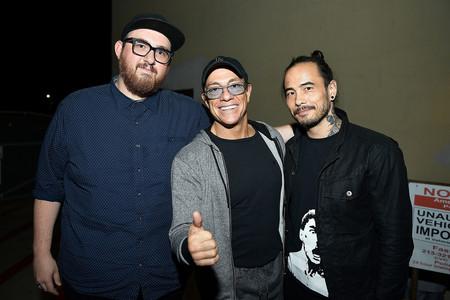 Peter Atencio, Jean-Claude Van Damme y Dave Callaham