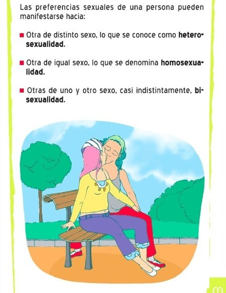El folleto sobre sexo para preadolescentes de la Junta de Andalucía