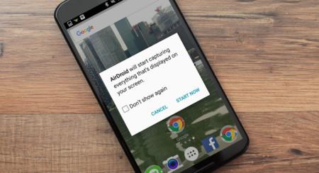 AirDroid 3.2.2: cómo grabar la pantalla de tu Android en vídeo