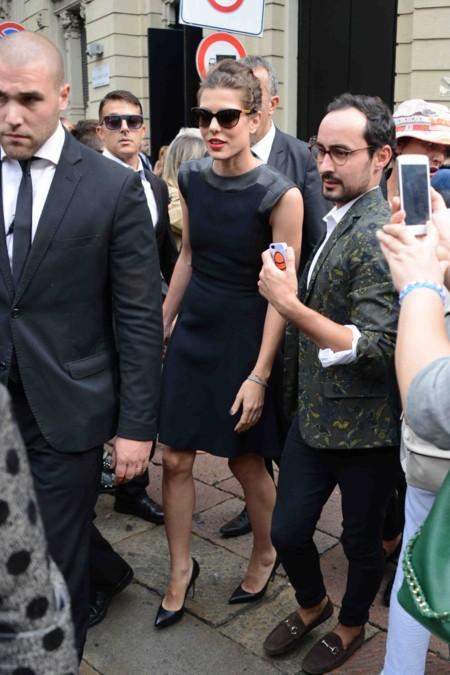 En la Fashion Week de Milán, en septiembre de 2014