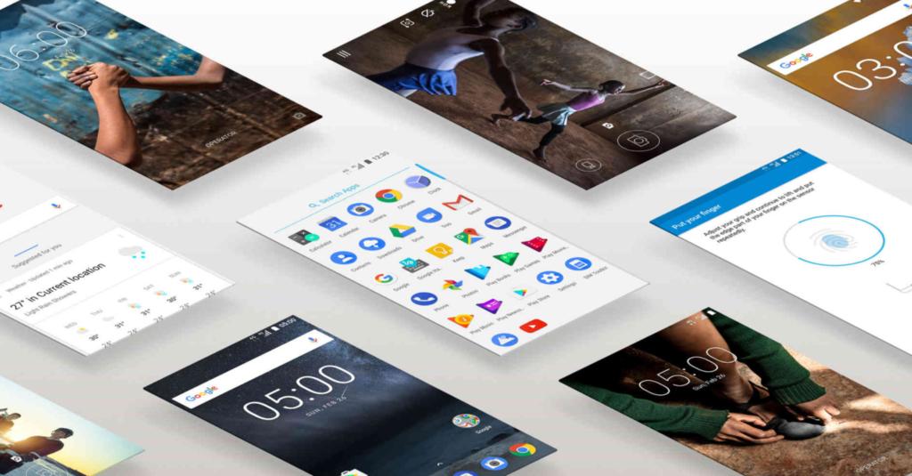 Android en el Nokia™ 5