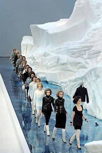 Chanel Otoño-Invierno 2010/2011 en la Semana de la Moda de París