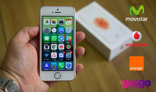 ¿Dónde comprar iPhone SE más barato? Comparativa de precios iPhone SE a plazos con operadores