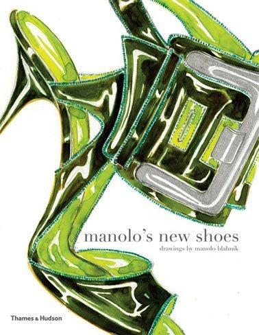 El libro de Manolo Blahnik 'Manolo's New Shoes' 2010, publicado por Thames & Hudson Ltd