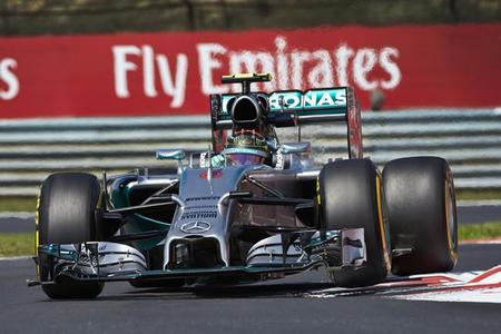 Sin Lewis Hamilton, Nico Rosberg no tiene oposición para hacerse con la pole en Hungaroring