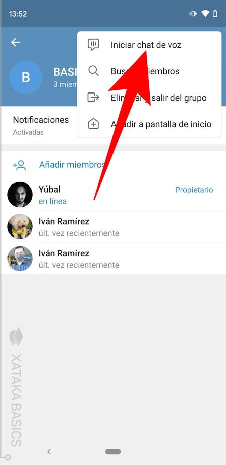 Iniciar Chat De Voz