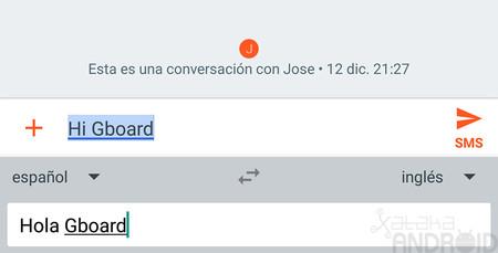 Cómo usar el nuevo traductor simultáneo del teclado Gboard